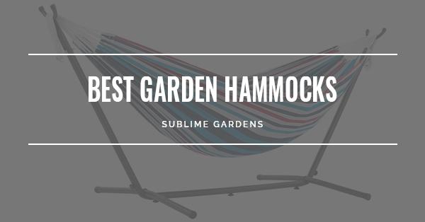 BEST GARDEN HAMMOCKS