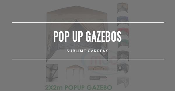 BEST POP-UP GAZEBOS