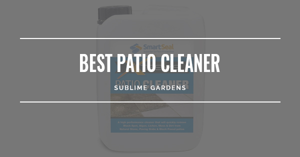 BEST PATIO CLEANER