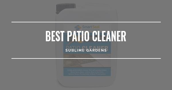 BEST PATIO CLEANER