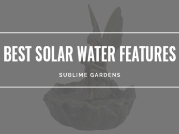 BEST SOLAR WATER FEATURES